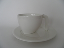 Ego OX Latte Coffee Cup and Saucer Arabia
