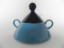 Harlekin Turquoise Sugar Bowl Arabia SOLD OUT