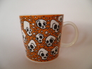 Skull Mug brown Tony Alfström SOLD OUT