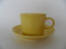 Teema Coffee Cup and Saucer Yellow Arabia