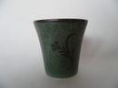 Goblet darkgreen art deco Arabia SOLD OUT