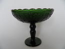 Apila Footed Bowl darkgreen