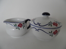 Sundborn Rörstrand Creamer and Sugar Bowl
