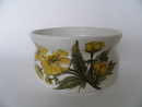 Bowl Yellow Flowers Arabia