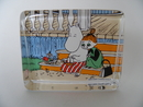 Moominmamma and the Bark Boat -Glass Card