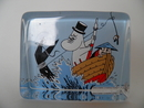 Moominpappa and the Sea - Glass card