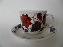 Tea for two Teacup and Saucer brown