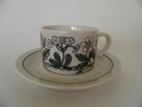 Flora Coffee Cup and Saucer Arabia