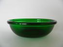 Luna green oval Bowl Nuutajärven lasi