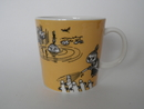 Moomin Mug Dark Yellow