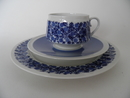 Doria Coffee Cup, Saucer and Side Plate SOLD OUT