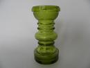 Carmen Vase/Candleholder green Riihimäen lasi SOLD OUT