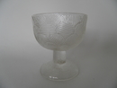 Miranda Dessert Bowl clear glass