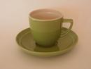 Oliivi -kahvikuppi vihreä  MYYTY