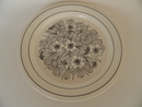 Krokus Black-White Dinner Plate 19,8 cm SOLD OUT