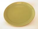 Oliivi -matala ruokalautanen vihreä