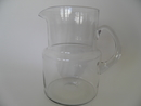 Pitcher clear glass Saara Hopea