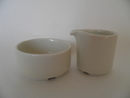 Sugar Bowl and Creamer Mini size Arabia SOLD