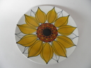 Sunflower Plate Arabia