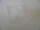 Fauna Cup small clear glass