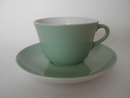 Maija Coffee Cup and Saucer lightgreen SOLD OUT