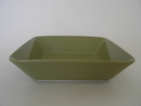 Teema Square Plate olivegreen