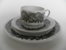 Citrus Coffee Cup and Saucer and Side Plate