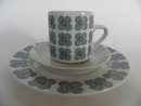 Veera Coffee Cup, Saucer and Side Plate Arabia