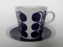 Blue Decoration Coffee Cup and Saucer Tomula SOLD OUT