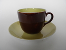 Paula Coffee Cup and Saucer brown Arabia SOLD OUT