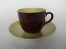 Paula Coffee Cup and Saucer brown Arabia