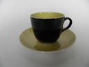 Paula Coffee Cup and Saucer black Arabia