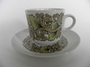 Hermes Coffee Cup and Saucer Arabia