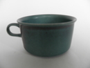 Ruska Tea Cup blue-green Arabia