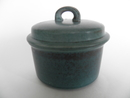 Ruska Sugar Bowl bluegreen Arabia SOLD OUT