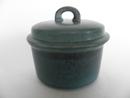 Ruska Sugar Bowl bluegreen Arabia SOLD OUT