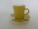 Espresso Cup and Saucer yellow Iittala