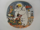 Moomin Wall Plate Sunday Stroll SOLD OUT
