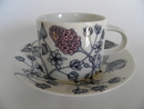 Runo Spring Bell Tea Cup and Saucer Arabia