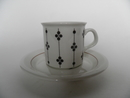 Kartano Coffee Cup and Saucer small Arabia