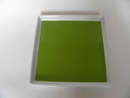 Plate green Square Arabia SOLD OUT