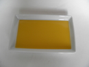 Plate yellow Arabia SOLD OUT