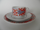 Esmeralda Coffee Cup and Saucer and Side Plate SOLD OUT