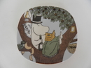 Moomin Wall Plate Back to Nature Arabia