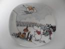 Moomin Wall Plate Moomin Jump Slope Arabia SOLD OUT