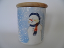 Snowman Jar Arabia Minna L. Immonen SOLD OUT