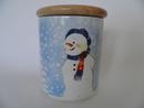 Snowman Jar Arabia Minna L. Immonen SOLD OUT