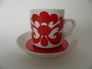 Kipinä Coffee Cup and Saucer Arabia SOLD OUT
