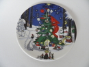 Moomin Wall Plate Christmas Plate Arabia SOLD OUT