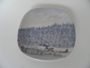 Wall Plate Winter in Lapland Arabia SOLD OUT
